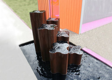 China Public Decoration Corten Steel Water Feature Various Size Weather Resistant supplier