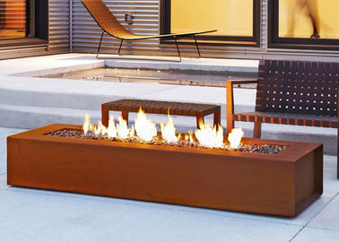 China Contemporary Modern Outdoor Fire Pits Modern Design For Garden Furniture supplier