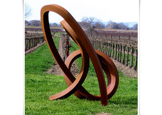 China Outdoor Unique Decoration Metal Art Sculpture Corten Steel Sculpture supplier