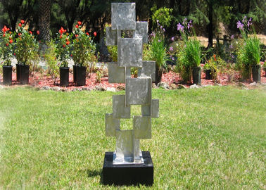 China Custom Design Brushed Metal Outdoor Statues Sculptures For Garden Decoration supplier
