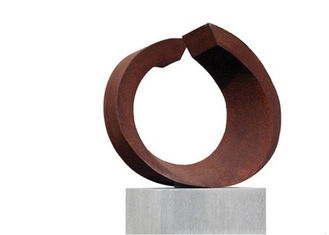 China Professional Precision Corten Steel Sculpture Outdoor Indoor Decration supplier