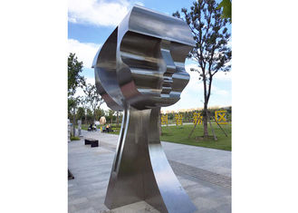 China Large Modern Outdoor Stainless Steel Art Wholesale Man Sculpture Matt Finish supplier