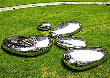 China Customized Modern Stainless Steel Sculpture Polished Garden Sculpture For Lawn supplier