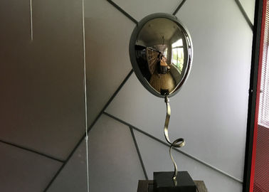 Home Decoration Custom Stainless Steel Sculpture Mirror Polished Balloon