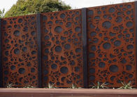 China Rusty Finish Large Outdoor Metal Wall Sculpture OEM / ODM Acceptable factory