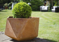 China Corten Steel Products Corten Steel Planter For Public / Garden Decoration factory
