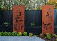 China Contemporary Sculpture Steel Outdoor Decoration Metal Art Corten Steel Screen factory