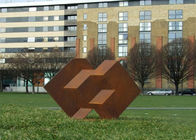 China Public Park Decoration Corten Steel Sculpture Corten Garden Sculpture factory
