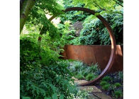 China Garden Decoration Metal Art Sculpture Corten Steel Rings Sculpture 200cm Dia factory