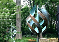 Garden Metal Decorative Wind Kinetic Sculpture Stainless Steel Corrosion Stability