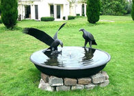 Antique Eagle Birdbath Bowl Bronze Garden Sculpture Decoration Corrosion Stability
