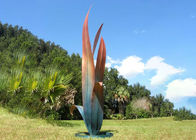 Bronze Sculptures for Outdoors Bronze Flower Sculpture