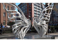 Large Public Art Outdoor Metal Butterfly Sculpture for urban landscape
