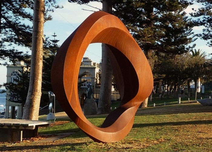 Corten Steel Rusted Metal Garden Sculptures , Outdoor ...