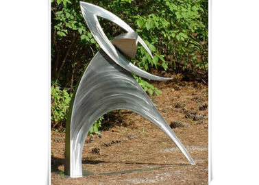 China Metal Garden Customized Outdoor Metal Sculpture / Figurative Abstract Sculpture factory