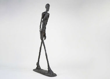 Life Size Modern Work Bronze Walking Man Sculpture By Giacometti