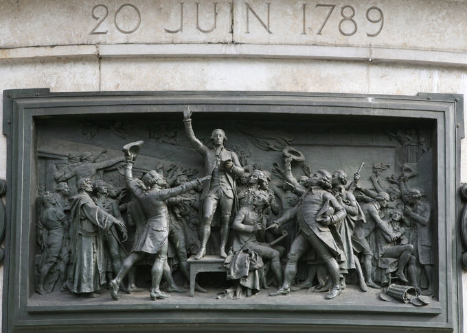Wall Art  French Revolution Bronze Relief For Outdoor Garden Decoration